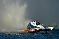 "Daniel Upton, NM-83 ""Blue Mule-Fast Tracker""  (National Mod hydroplane(s)"