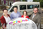 Pictured launching the Original Kerry 'Kerry Craft Trails Day Tours' on Friday, from left: Mary J. Leen (Leen's Stained Glass, Tralee), Gareth Lawless (Kerry Flyer), Deirdre Johnston (Original Kerry) and Sean Sugrue (Goldsmith).