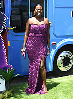 """10 August 2019 - Westwood, California - Leslie Jones. Sony's """"The Angry Birds Movie 2"""" Los Angeles Premiere held at Regency Village Theater.   <br /> CAP/ADM/BT<br /> ©BT/ADM/Capital Pictures"""