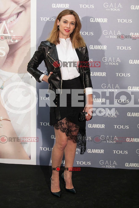 Marta Hazas poses for the photographers during TOUS presentation in Madrid, Spain. January 21, 2015. (ALTERPHOTOS/Victor Blanco) /NortePhoto<br />