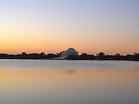 Jefferson Memorial, Washington, D.C. at dawn.
