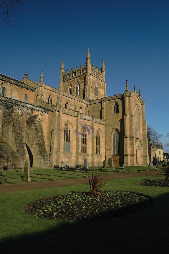 Dunfermline Abbey, Dunfermline, Fife<br /> <br /> Copyright www.scottishhorizons.co.uk/Keith Fergus 2011 All Rights Reserved