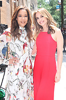NEW YORK, NY June 15, 2017 Sunny Hostin, Jedediah Bila,  host of  the View  in New York June 15, 2017. Credit:RW/MediaPunch