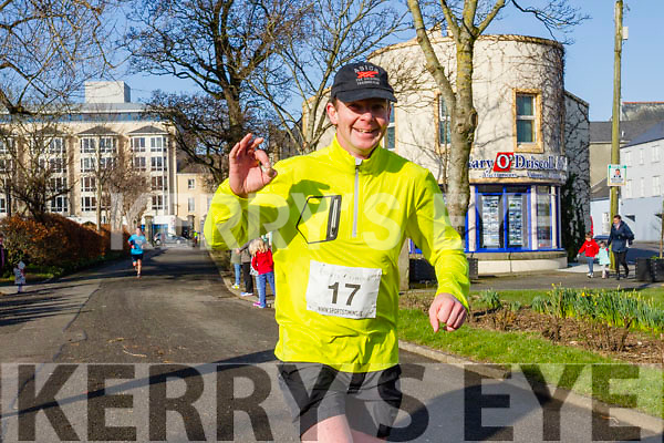 Mark Boyle, pictured at the Kerry's Eye Valentines Weekend 10 mile road race on Sunday.