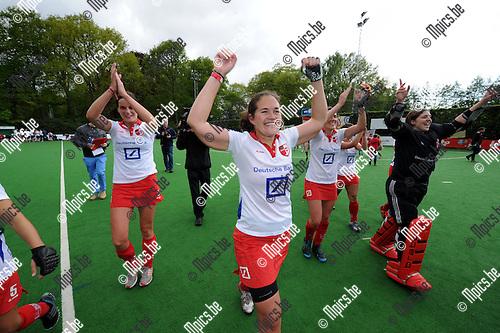 2013-05-12 / Hockey / seizoen 2012-2013 / Antwerp viert de titel..Foto: Mpics.be