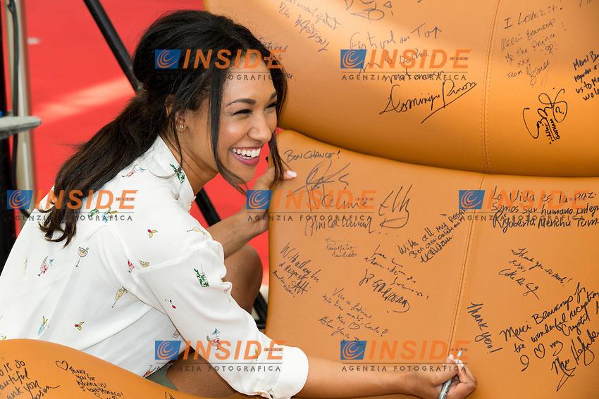 Candice PATTON, The Flash <br /> Monaco Montecarlo 14-06-2016 <br /> 56th Monaco TV Festival - Photocall Opening Ceremony <br /> Foto Nicolas Gavet Panoramic / Insidefoto