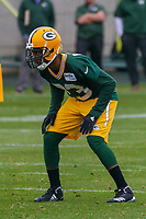 Green Bay Packers cornerback Damarious Randall (23) during an Organized Team Activity on May 23, 2017 at Clarke Hinkle Field in Green Bay, Wisconsin.  (Brad Krause/Krause Sports Photography)