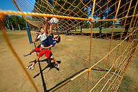 YMCA resident Camp Thunderbird, operating since 1936, is one of several YMCA camps located in the Carolinas. The 100-acre camp is located about 20 minutes from downtown Charlotte, North Carolina. In addition to the camp's extensive water program, campers are able to choose from a wide variety of sports, including football, basketball, skateboarding, ropes courses, high adventure and more.