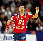 Rajko Prodanovic during men`s EHF EURO 2012 handball championship final game between Serbia and Denmark in Belgrade, Serbia, Sunday, January 29, 2011.  (photo: Pedja Milosavljevic / thepedja@gmail.com / +381641260959)
