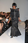 Guiding Light Cicely Tyson walks in B Michael America Couture Collection - Fall/Winter collection (Fashion Show) on February 15, 2011 at the Plaza Hotel, New York City, New York. (Photo by Sue Coflin/Max Photos)
