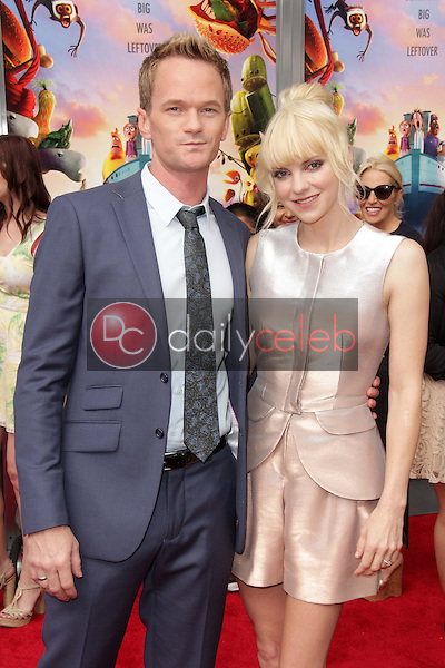 """Anna Faris, Neil Patrick Harris<br /> at the """"Cloudy With A Chance of Meatballs 2"""" Los Angeles Premiere, Village Theater, Westwood, CA 09-21-13<br /> David Edwards/Dailyceleb.com 818-249-4998"""
