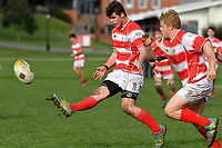 College Rugby - Scots College v Lindisfarne College at Scots College, Wellington, New Zealand on Tuesday 25 June 2019. <br /> Photo by Masanori Udagawa. <br /> www.photowellington.photoshelter.com