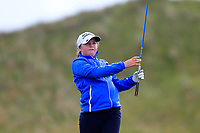 Katie Poots (Knock) during the 2nd round of the Irish Women's Open Stroke Play Championship, Enniscrone Golf Club, Enniscrone, Co. Sligo. Ireland. 16/06/2018.<br /> Picture: Golffile | Fran Caffrey<br /> <br /> <br /> All photo usage must carry mandatory  copyright credit (© Golffile | Fran Caffrey)