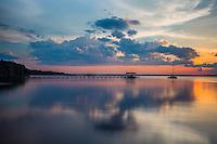 Sunset St Johns River