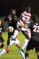 Stanford Soccer M vs Omaha, September 18, 2016