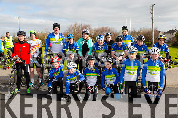 At the St Brendan's NS FENIT Coastal Cycle on Saturday were Kingdom Cycle Club