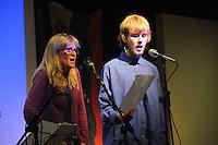 El Sueno Existe Festival<br /> Machynlleth<br /> Wales<br /> Acoustic Showcase Concert<br /> Carol Burtt and Jack Fonesca Burtt.