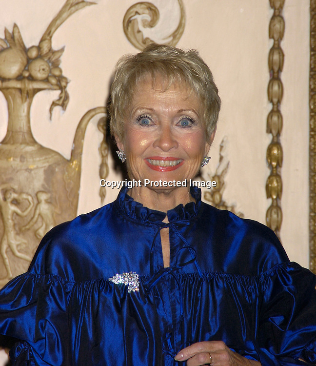 "Jane Powell ..at The Actor's Fund of America Annual Gala- ""That's Entertainment "" at the Waldorf=Astoria on October 30, 2004.  Johnny Depp was being honored...Photo by Robin Platzer, Twin Images"