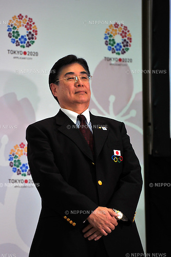 Masato Mizuno, .FEBRUARY 16, 2012 - : Press conference for the 2020 Olympic and Paralympic Games candidate Tokyo applies application file, Tokyo, Japan. (Photo by Jun Tsukida/AFLO SPORT) [0003].
