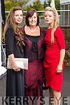 Sharon Locke (Tralee) Noreen Murphy (Kilflynn) and Francine Locke (Tralee), pictured at the Rose of Tralee Fashion Show on Sunday night last held in the Dome, Tralee.