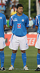 Cruz Azul's Julio C. Dominguez (MEX). The United Soccer League Division 1 Carolina Railhawks played Club Deportivo Cruz Azul of La Primera Division del Futbol Mexicano on Wednesday, July 25, 2007 in an international club friendly game at SAS Stadium in Cary, North Carolina/