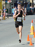 Carl Dunne who was 2nd in the Dunleer 4 mile run. Photo:Colin Bell/pressphotos.ie