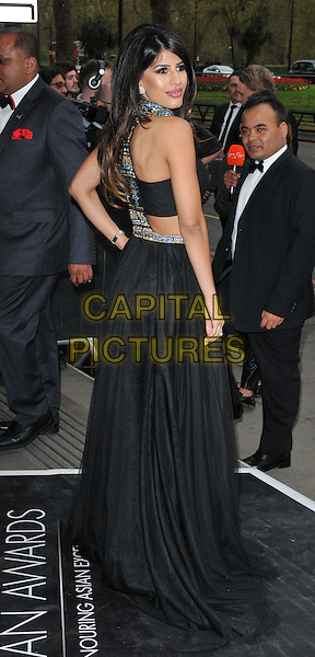 LONDON, ENGLAND - APRIL 17: Jasmin Walia attends the Asian Awards 2015, Grosvenor House Hotel, Park Lane, on Friday April 17, 2015 in London, England, UK. <br /> CAP/CAN<br /> &copy;Can Nguyen/Capital Pictures