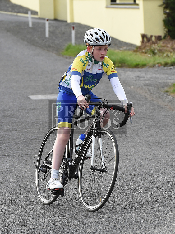 Drogheda Wheelers Niall Browne who came 1st in the youths section of the Mark Mullen League. Photo:Colin Bell/pressphotos.ie