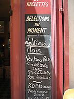 Wine List, Provence