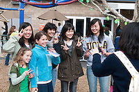 The Harker School - LS - Lower School - St. Patrick's Day with Eagle Buddies...2012-03-16...photo by Kyle Cavallaro