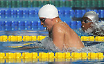 November 13 2011 - Guadalajara, Mexico: Adam Rahier on his way to a Silver medal at the 2011 Parapan American Games in Guadalajara, Mexico.  Photos: Matthew Murnaghan/Canadian Paralympic Committee