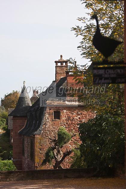 Europe/France/Limousin/19/Corrèze/Collonges-la-Rouge : Castel de Vassinhac