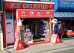 Ice cream and sweets shop, Bridlington, Yorkshire, England