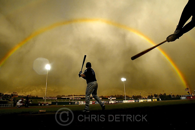 Baseball in Ogden, Utah.