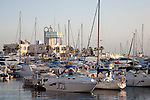 Boats and Yachts in Alicante Port, Spain