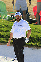 Shane Lowry (IRL) in a bunker at the 5th green during Saturday's Round 3 of the Waste Management Phoenix Open 2018 held on the TPC Scottsdale Stadium Course, Scottsdale, Arizona, USA. 3rd February 2018.<br /> Picture: Eoin Clarke | Golffile<br /> <br /> <br /> All photos usage must carry mandatory copyright credit (&copy; Golffile | Eoin Clarke)