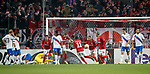 08.11.18 Spartak Moscow v Rangers: Spartak Celebrate after their first goal