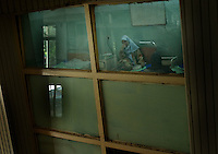 a Patient of the Baghdad psychiatric hospital on June 10 2004 in Iraq