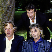 Pink Floyd - Dave Gilmour, Rick Wright, Nick Mason - photocall at the Palais de Versailles to launch their new album Delicate Sound of Thunder -  Versailles, France - 09 Jun 1988.  Photo credit: George Chin/IconicPix