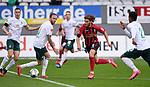 FussballFussball: agnph001:  1. Bundesliga Saison 2019/2020 27. Spieltag 23.05.2020<br /> SC Freiburg - SV Werder Bremen<br /> Lucas Hoeler (2.v.re, SC Freiburg) gegen Kevin Vogt (2.v.li, SV Werder Bremen)<br /> FOTO: Markus Ulmer/Pressefoto Ulmer/ /Pool/gumzmedia/nordphoto<br /> <br /> Nur für journalistische Zwecke! Only for editorial use! <br /> No commercial usage!