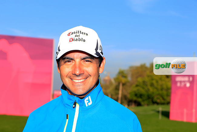 Felipe AGUILAR (CHI) during Wednesday's Pro-Am day of the 2015 Commercial Bank Qatar Masters, Doha Golf Club, Doha, Qatar.: Picture Eoin Clarke, www.golffile.ie: 1/20/2015
