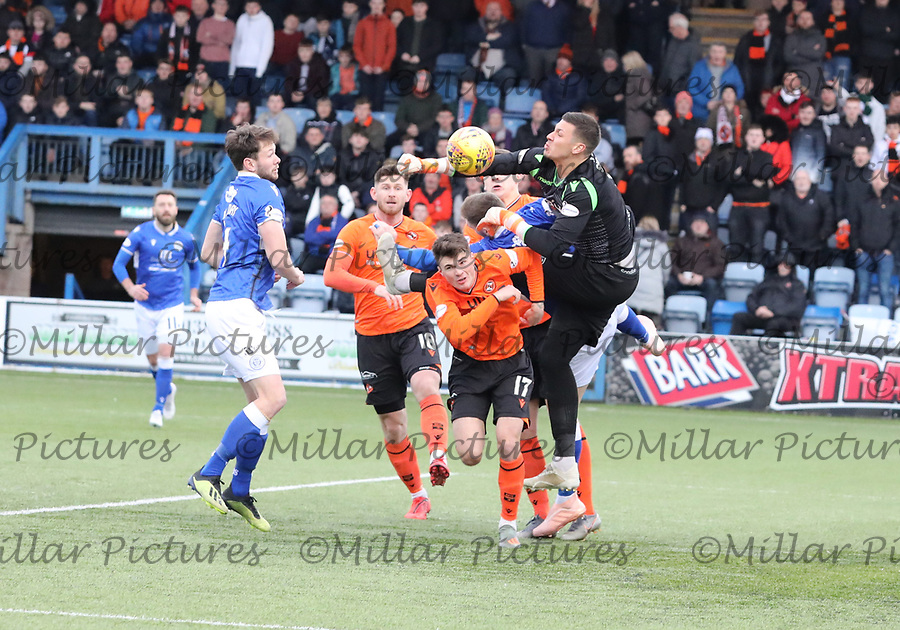 Queen of the South v Dundee United 040120