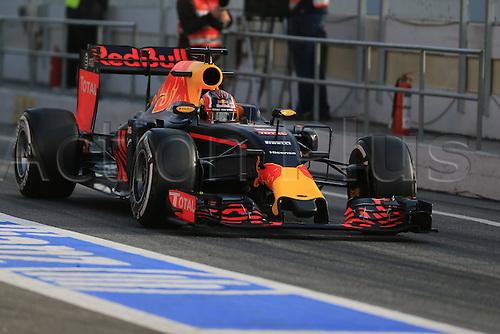 25.02.2016. Circuit de Catalunya, Barcelona, Spain. Day 4 of the Spring F1 testing and new car unvieling for 2016-17 season.  Red Bull Racing RB12 – Daniil Kvyat