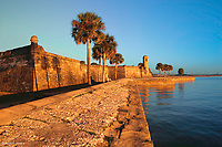 Sunrise<br /> Castillo de San Marcos National Monument<br /> St. Augustine, Florida