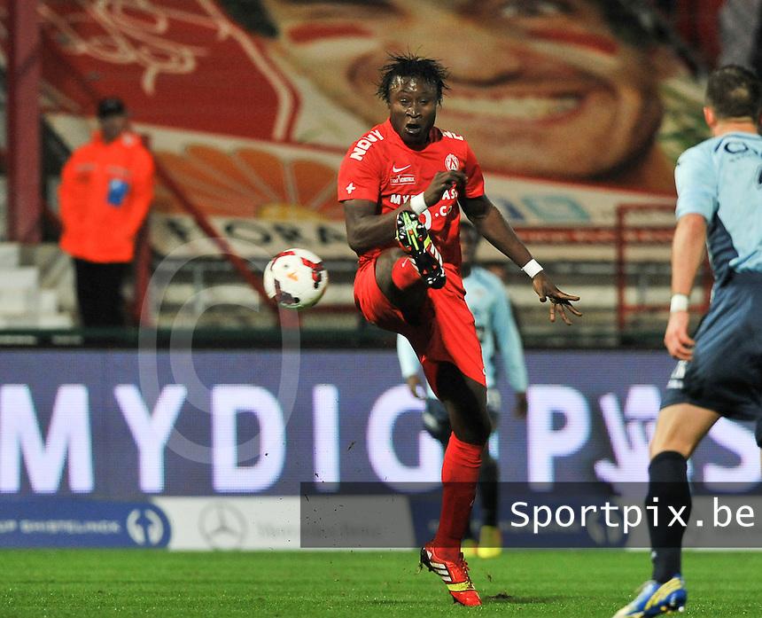 KV Kortrijk - KV Oostende : Elimane Coulibaly<br /> foto VDB / Bart Vandenbroucke