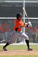 Baltimore Orioles minor league player Sammie Starr #87 during a spring training game vs the Boston Red Sox at the Buck O'Neil Complex in Sarasota, Florida;  March 22, 2011.  Photo By Mike Janes/Four Seam Images
