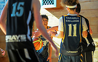 Senior A boys basketball. Kuranui College v Tararua College Sports Exchange at Kuranui College in Greytown, Wairarapa, New Zealand on Friday, 11 August 2017. Photo: Dave Lintott / lintottphoto.co.nz