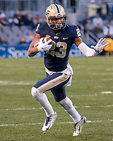 Pitt wide receiver Tyler Boyd. The Pitt Panthers football team defeated the Louisville Cardinals 45-34 on Saturday, November 21, 2015 at Heinz Field, Pittsburgh, Pennsylvania.