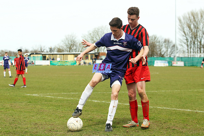 SITTINGBOURNE v MARGATE<br /> KENT YOUTH LEAGUE U18 KIT TO FIT CHALLENGE CUP SEMI FINAL SUNDAY 10TH APRIL 2016