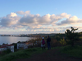 Blick über das Asowsche Meer Mariupiol.